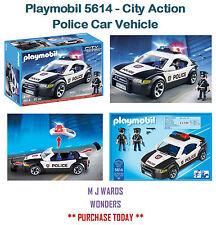 Playmobil 5614-CITY ACTION-Véhicule voiture de police-RARE!! ** ** cadeau idéal
