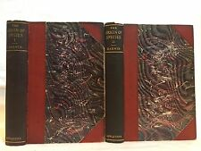 1896. ORIGIN OF SPECIES by CHARLES DARWIN. Evolution science sex reproduction