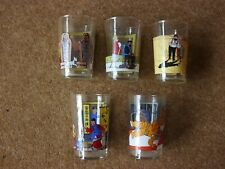 Tintin Glasses - 1994 Amora - large picture - series of 8 - buy individually.