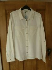 DICKENS & JONES ivory FREYA  blouse