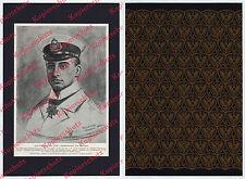 U-Boot U29 Otto Weddigen Orden Porträtzeichnung Schwerin Kaiserliche Marine 1915