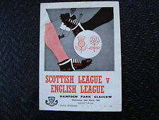 Scottish League v English League Mar 1969 at Hampden Park