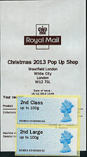 MA13 2nd/2nd LARGE PAIR WESTFIELD XMAS POP UP SHOP LAST DAY OF TOUR A3 POST & GO
