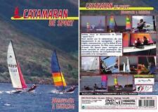 DVD Catamaran de sport : Découverte & initiation  - Voile bateau - Sport Loisirs