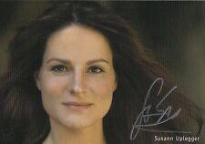 Autogramm - Susann Uplegger