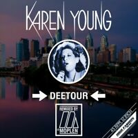 "Karen Young - Deetour Moplen Remixes (Vinyl 12"" - 2020 - EU - Original)"