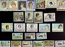 25 LADY DIANA ON STAMPS