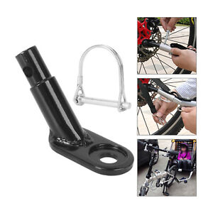 Bicycle Bike Trailer Coupler Attachment Hitch Angled Elbow For InStep Schwinn UK