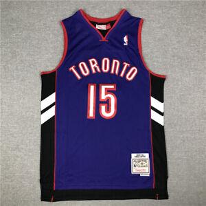 15# Vince Carter Toronto Raptors 1999-00 Hardwood Classics Men's Jersey Purple