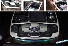 Accessories For Audi A6 A7 2012-2016 Stainless Steel Gear Box Panel Cover Trim