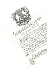 crv 58 1839 ROMA - Chiesa S. Mariae In Via de Urbe - Certificato di matrimonio