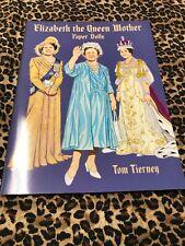 Paper Dolls Tom Tierney Uncut Elizabeth the Queen Mother 2001