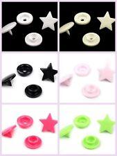 10x Stars Rapid Snap Pliers Plastic Snaps Fasteners Button Press Stud Popper