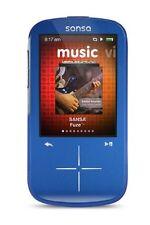 SanDisk Sansa Fuze+ Blue ( 4 GB ) Digital Media Player SDMX20R-004GB-C57 NEW!