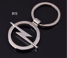Car  Fashion Titanium Key Chain Car Keychain Ring Keyfob Metal Keyring for opel
