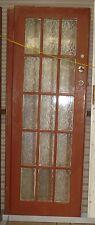 Brown/white French Doors - Locks/Rebate/DeadBolt &PeepHole -(W) 700 (H) 2000