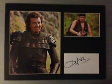 [A0281] Danny McBride Signed 12x16 Display AFTAL