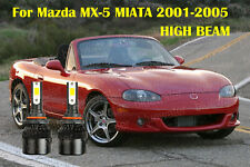 LED For Mazda MX-5 MIATA 2001-2005 Headlight Kit 9005 HB3 CREE Bulbs HIGH Beam