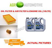 DIESEL OIL AIR FILTER KIT + C1 5W30 OIL FOR JAGUAR XF 3.0 275 BHP 2009-