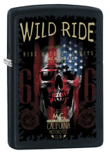 Original Zippo Sturmfeuerzeug 60003059 Wild Ride California Motorcycle Club