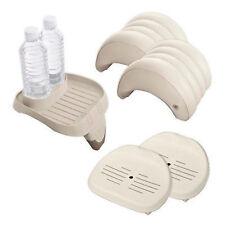 Intex PureSpa Accessory Set: 1 Cup Holder, 2 Headrests, 2 Spa Seats