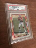 2017 Patrick Mahomes Donruss Optic The Rookies #7 Rookie PSA 10. MAKE AN OFFER!!