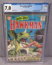 THE BRAVE & THE BOLD #34 (Hawkman & Hawkgirl 1st app.) CGC 7.0 DC Comics 1961