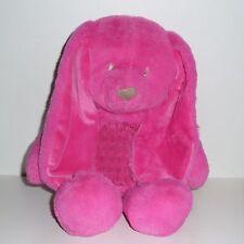 Doudou Grand Lapin rose Fushia Tex BABY