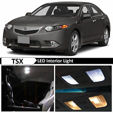 14x White Interior LED Lights Package Kit for 2009-2014 Acura TSX + TOOL