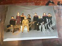 Star Trek hand signed original photo 6 x 4 with COA