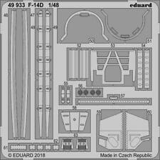 Eduard Accessories 49933 1:48 - F-14D For Tamiya - New