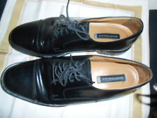 BOSTONIAN LUXE MENS DRESS SHOES BLACK LEATHER OXFORD SIZE 12 M FREE SHIP!
