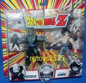 Dragonball Z Limited Edition Paints Piccolo & Battle Damaged Goku New 2005