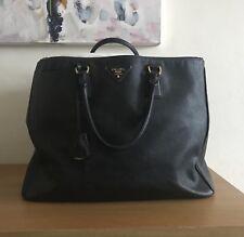 Prada Saffiano double zip large Bag
