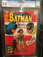 BATMAN #181 (1966) First appearance of POISON IVY CGC 5.0 VG/FN !
