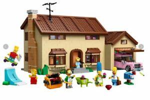 The Simpson's House 20010 - Alternative to LEGO 71006 The Simpson's House