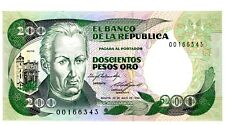 Colombia ... P-429a ... 200 Pesos ... (20.07.1984) ... *UNC* ... REPLACEMENT