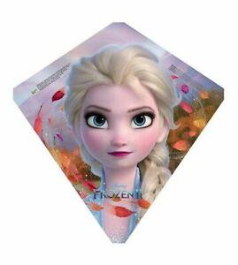"""Elsa Frozen II Disney Poly Diamond 22"""" Kite"""