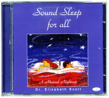 Sound Sleep for All CD for insomnia and relaxation *NEW & WRAPPED*