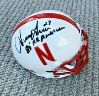 1983 NEBRASKA HUSKERS IRVING FRYAR #27 SIGNED ALL AMERICAN MINI HELMET PATRIOTS