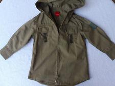 Esprit Langarm - Hemd - größe 92 - 98 mit Kapuze - khaki-