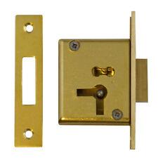Asec No.15 4 Lever Mortice Cupboard Lock 64mm RH (AS6508)