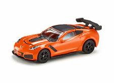 Siku Diecast Metal Mini Car #1534 Chevrolet Corvette ZR1 Orange MISB