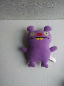 "Uglydoll Trunko 7"" Plush Purple 2008 Stuffed Animal Toy"