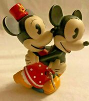 SCHYLLING's DISNEY Retro DANCING MICKEY & MINNIE MOUSE Wind Up Toy **EXCELLENT**