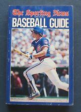 Ryne Sandberg--1985 Sporting News Baseball Guide--Chicago Cubs