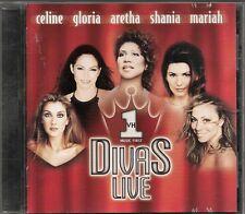 CD ALBUM 14 TITRES--DIVAS LIVE - CELINE DION/MARIAH CAREY/GLORIA GAYNOR/FRANKLIN