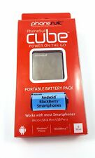 PhoneSuit Cube Power On The Go Portable Battery Pack  Micro USB Android Phones