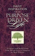Daily Inspiration for the Purpose Driven Life: Scriptures and Reflections fr