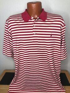 Men's Polo by Ralph Lauren S/S Polo/Golf Shirt Size Large (L) Striped - Cotton